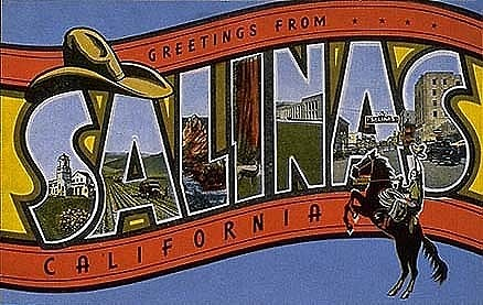 Greetings from salinas california picture postcard national greetings from salinas california picture postcard notes m4hsunfo