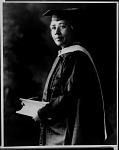 Dr. Anna J. Cooper [in academic dress : cellulose acetate photonegative, ca. 1923]