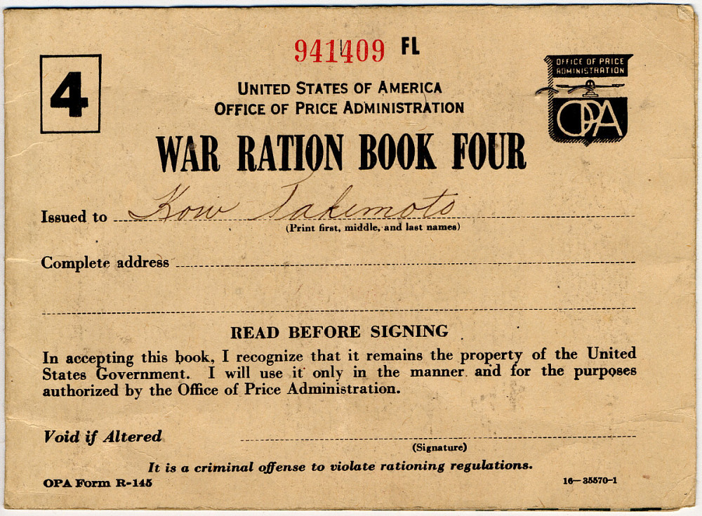 War Ration Book #4 | National Museum of American History