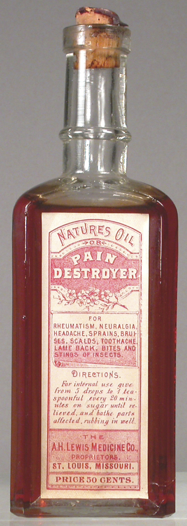 Nature's Oil or Pain Destroyer