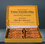 Foley Family Pills for Constipation (Box of 12 Packages)