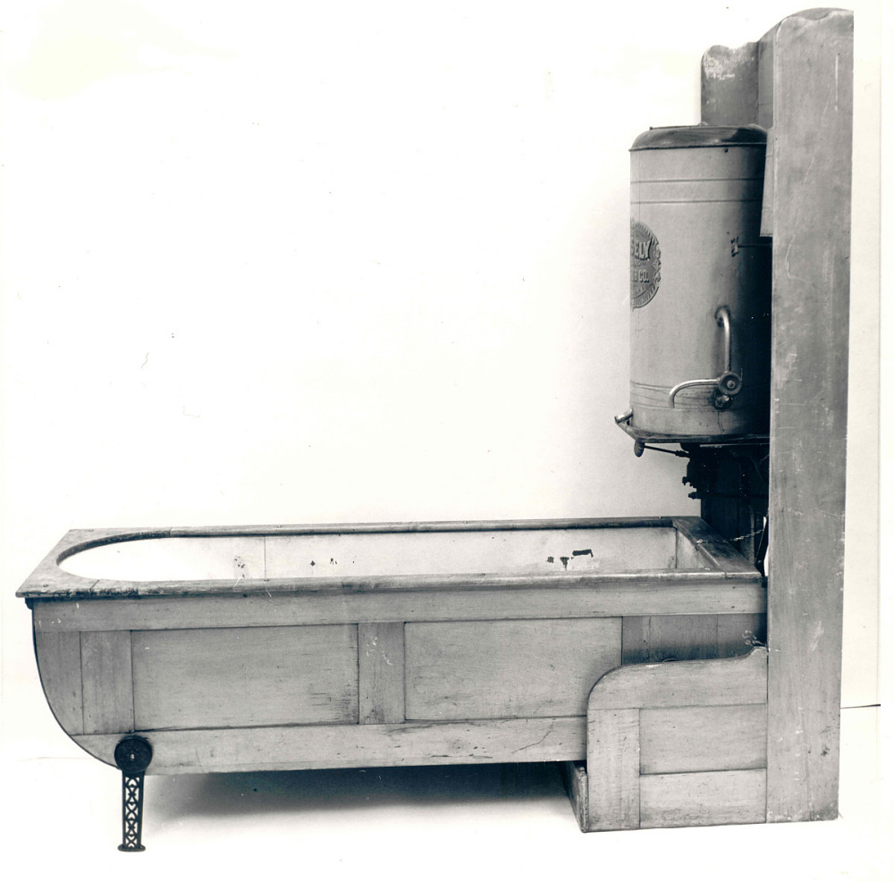 1880 - 1900 The Closet Folding Bathtub | National Museum of American ...