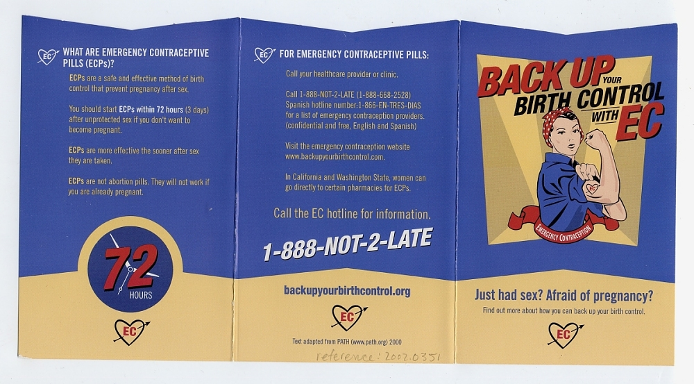 Plan B Emergency Contraceptive | National Museum of American
