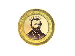 Ulysses S. Grant Campaign Badge