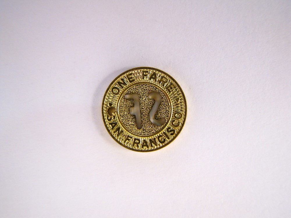 San Francisco Municipal Railway Token | National Museum of