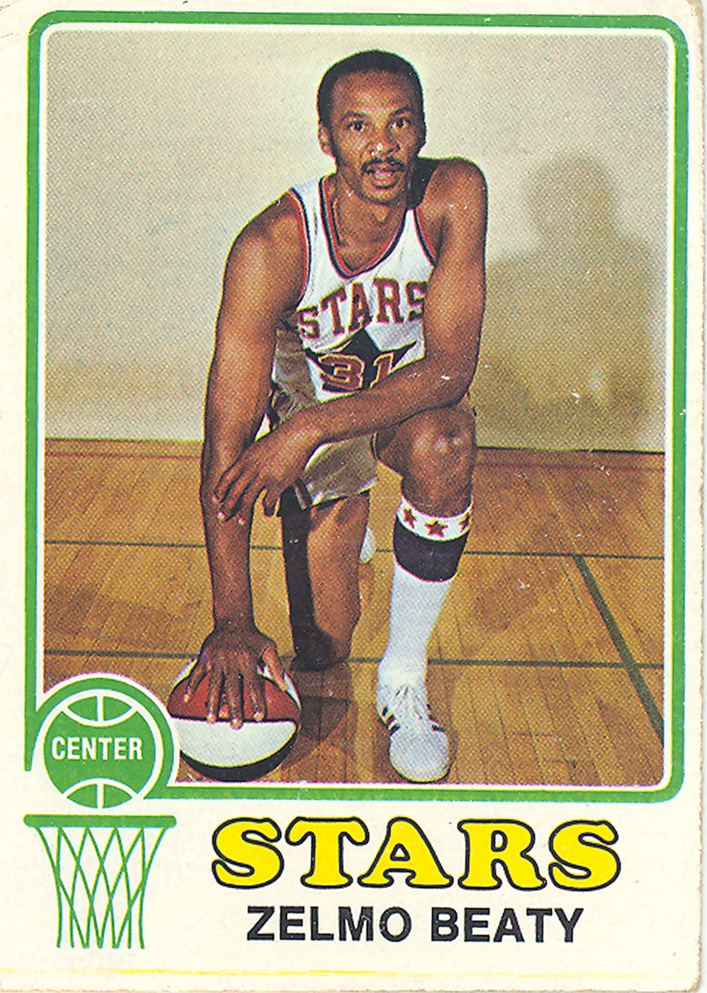 Zelmo Beaty Basketball Card