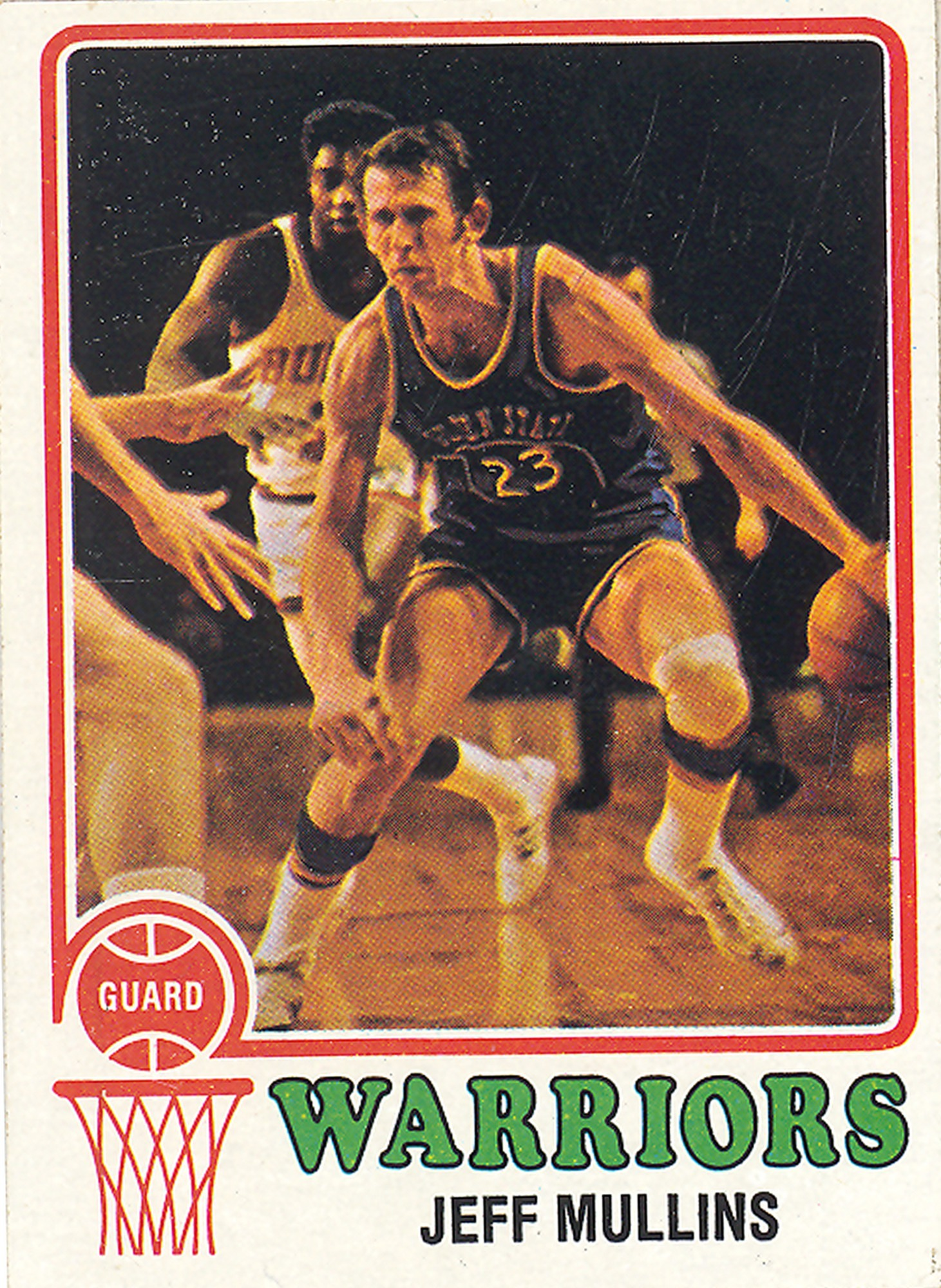 Jeff Mullins Basketball Card