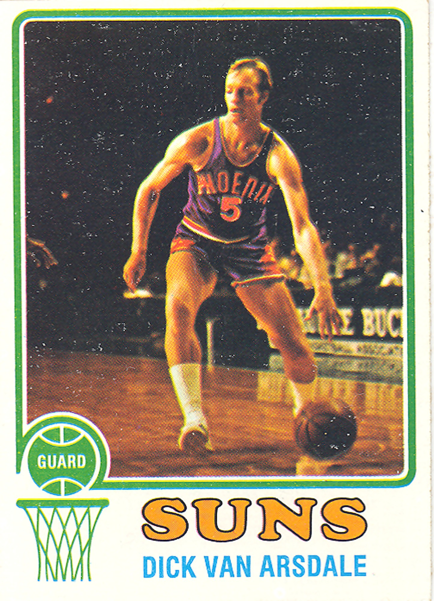 Dick Van Arsdale Basketball Card