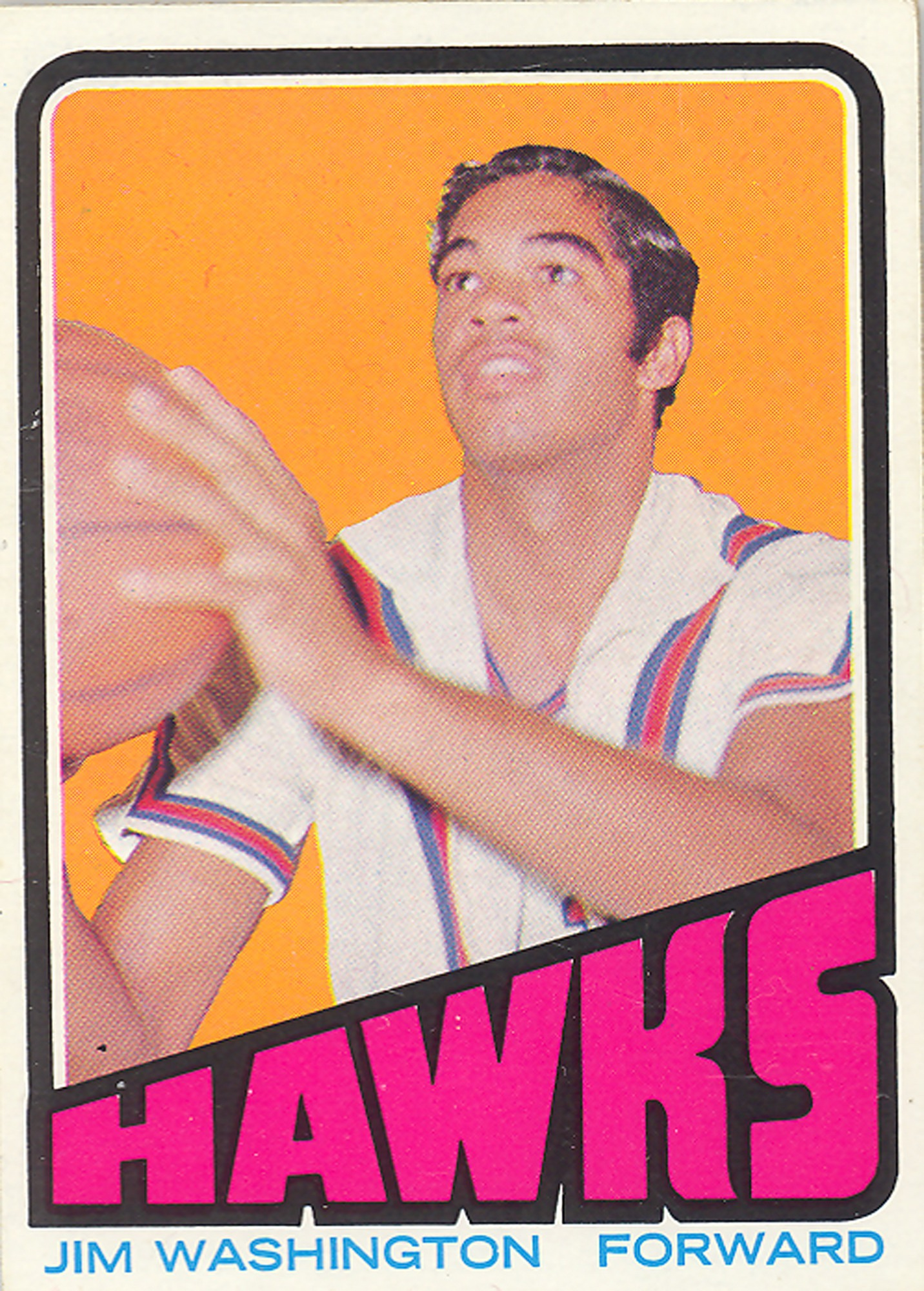 Jim Washington Basketball Card