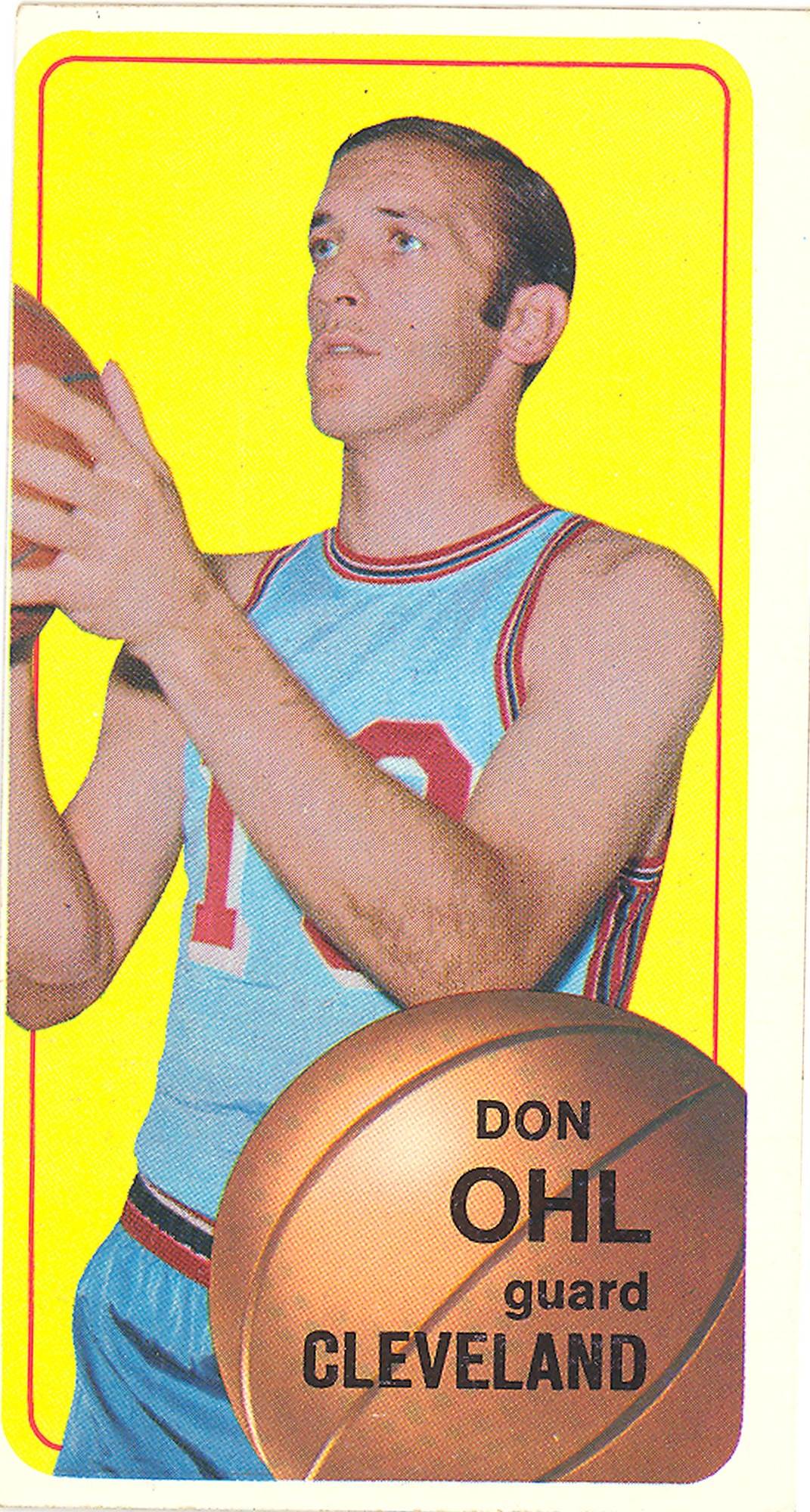 Don Ohl Basketball Card