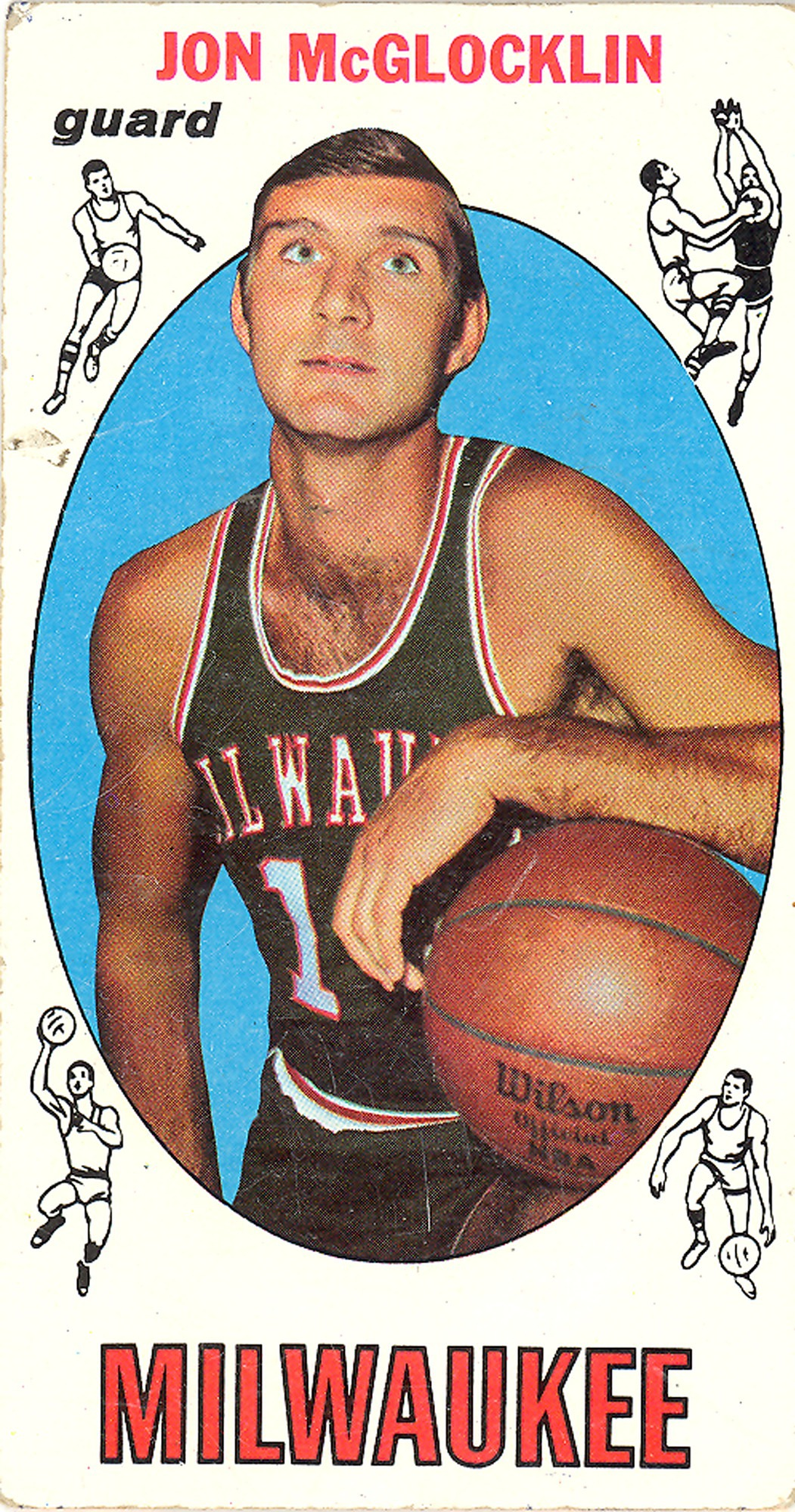 Jon McGlocklin Basketball Card