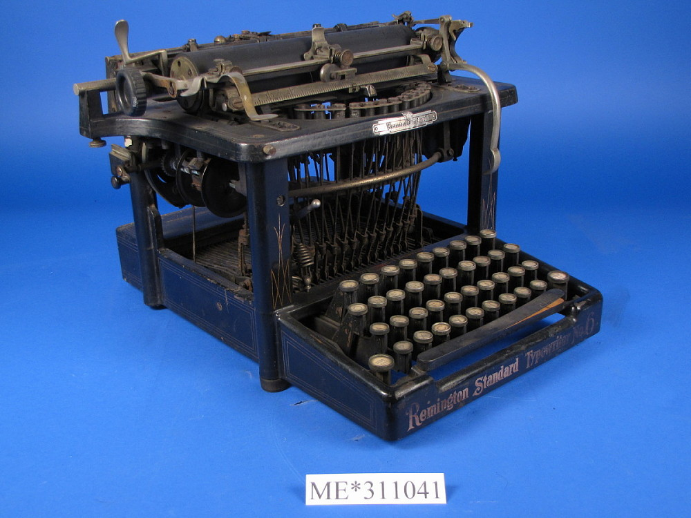 what did the typewriter do