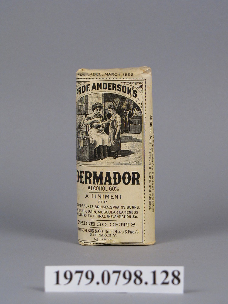 Prof  Anderson's Dermador | National Museum of American History
