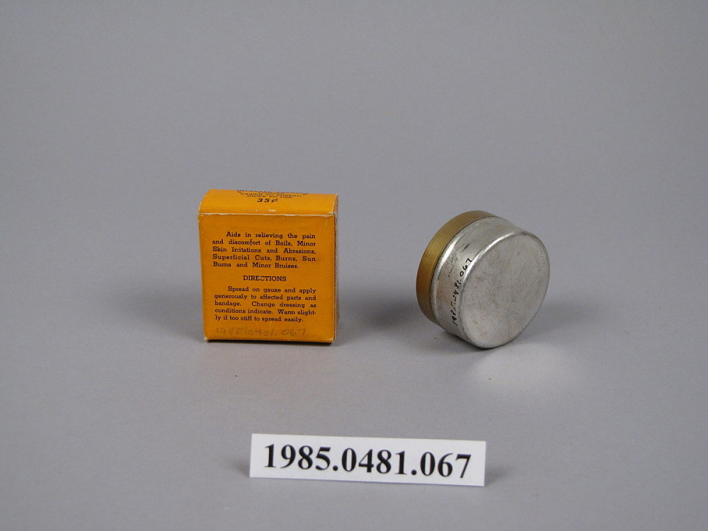 Gray's Improved Genuine Ointment | National Museum of