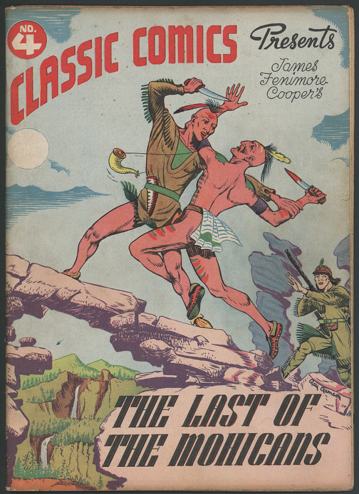Classic Comics No  4: The Last of the Mohicans | National