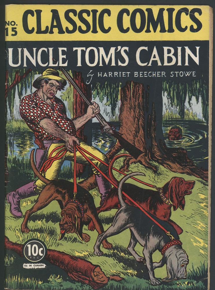Classic Comics No 15 Uncle Tom S Cabin National Museum