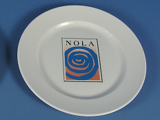 Plate from NOLA