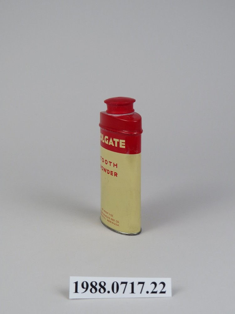 Colgate Tooth Powder | National Museum of American History