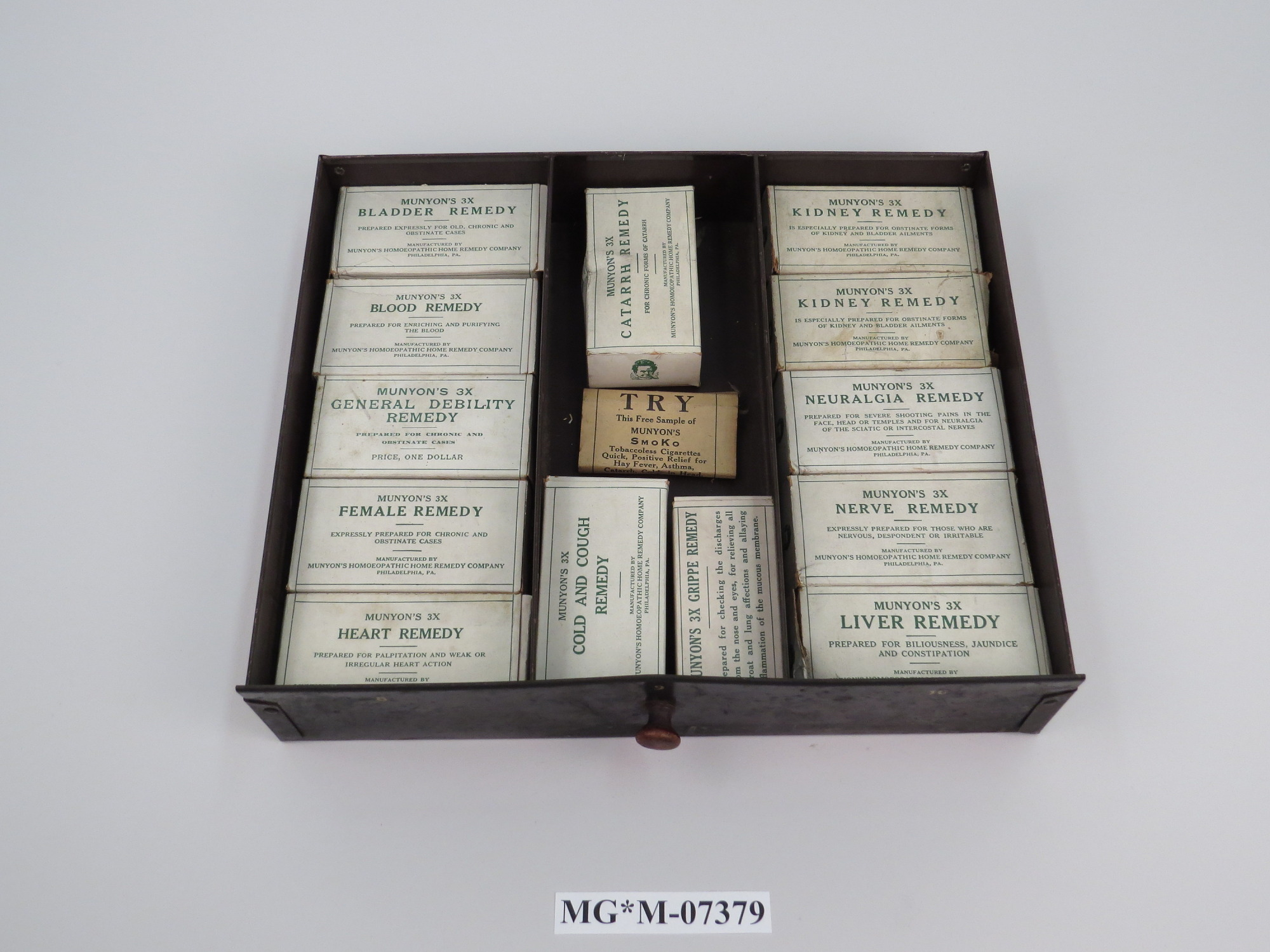 Munyon's Homeopathic Home Remedy Counter Display | National