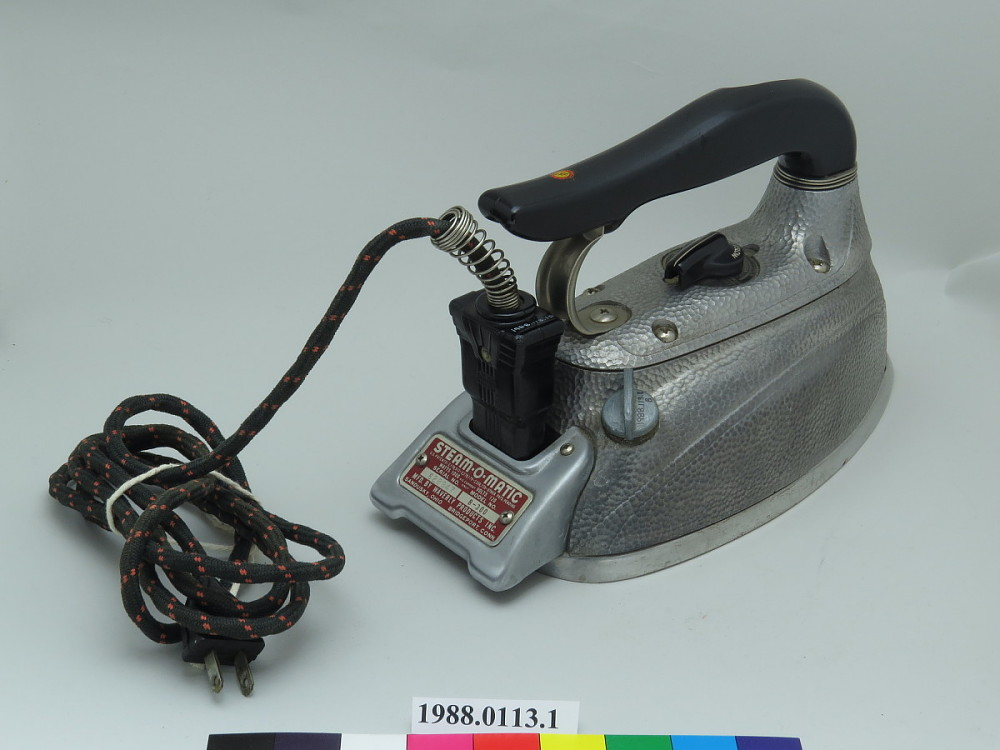 electric iron history
