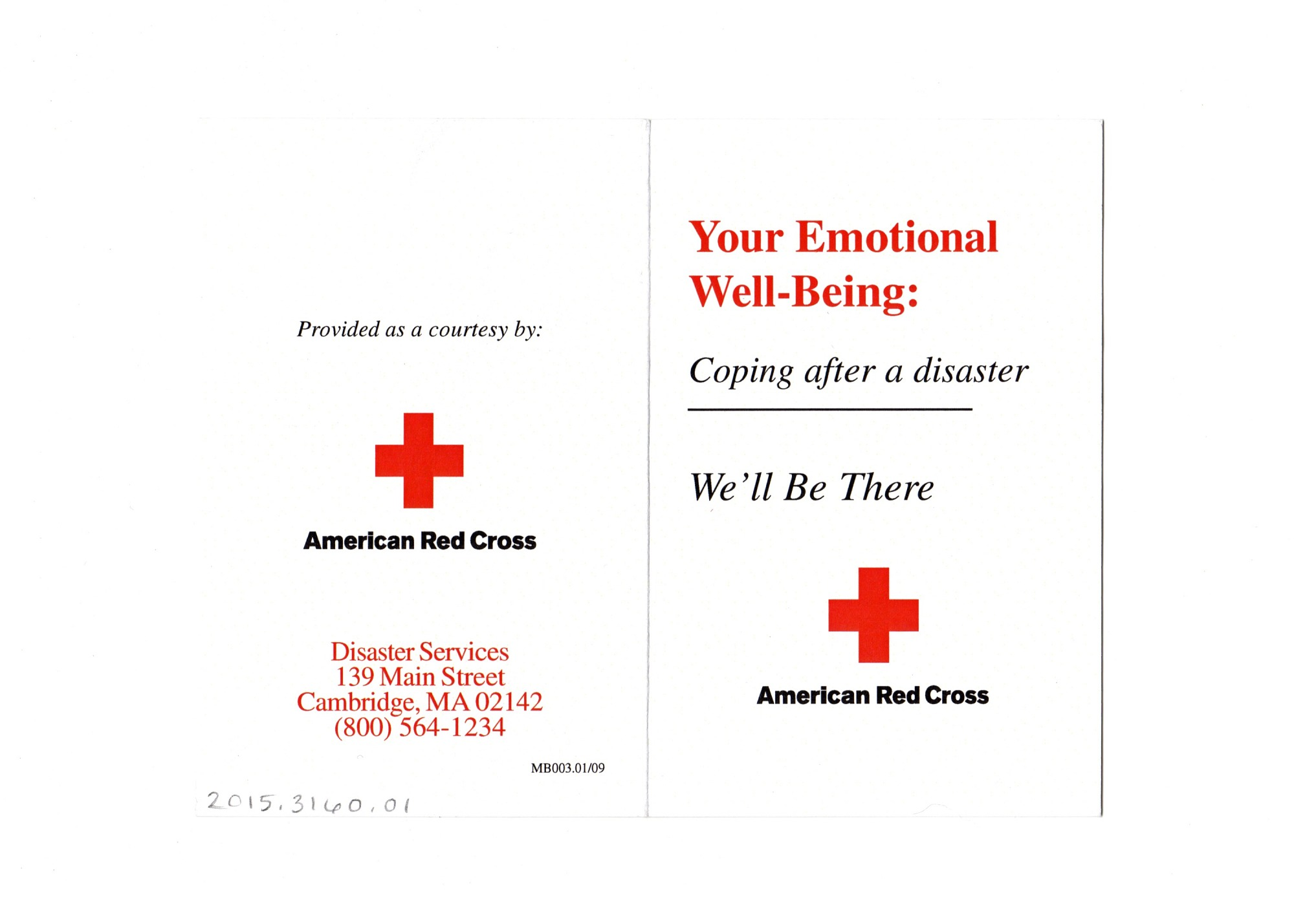Your Emotional Well-Being: Coping after a disaster