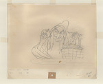 Production drawing of Witch from Snow White