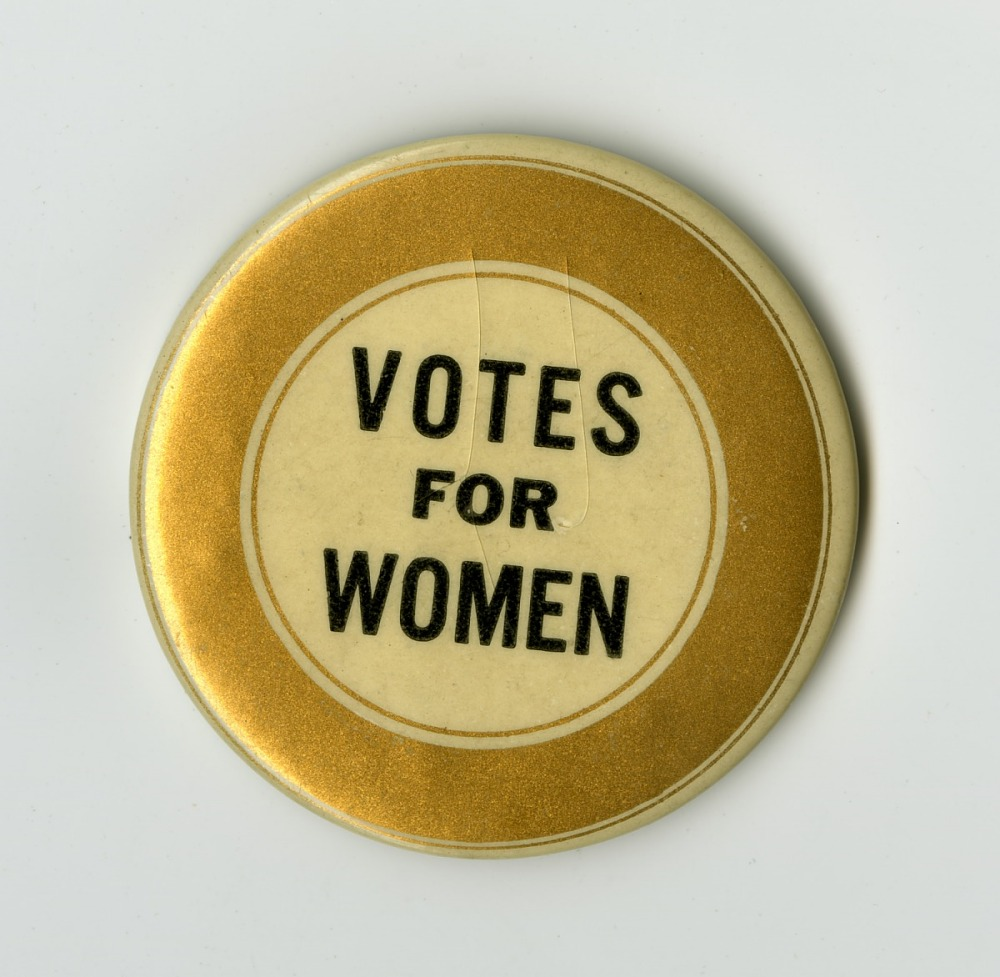 Button Votes For Women National Museum Of American History
