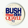 Bush Quayle 92,  Name: Quayle, Dan, Bush, George,  Date: 1990s from National Museum of American History ... See More