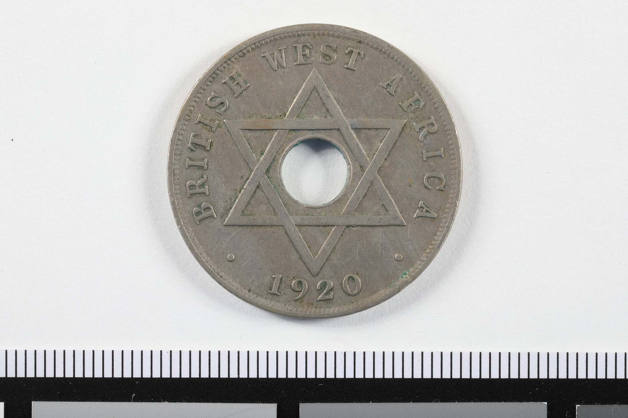 1 Penny, British West Africa, 1920