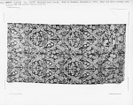 Brocaded worsted damask, Norwich, England, 1760s