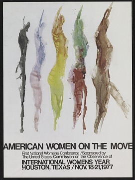 National Women's Conference poster, 1977