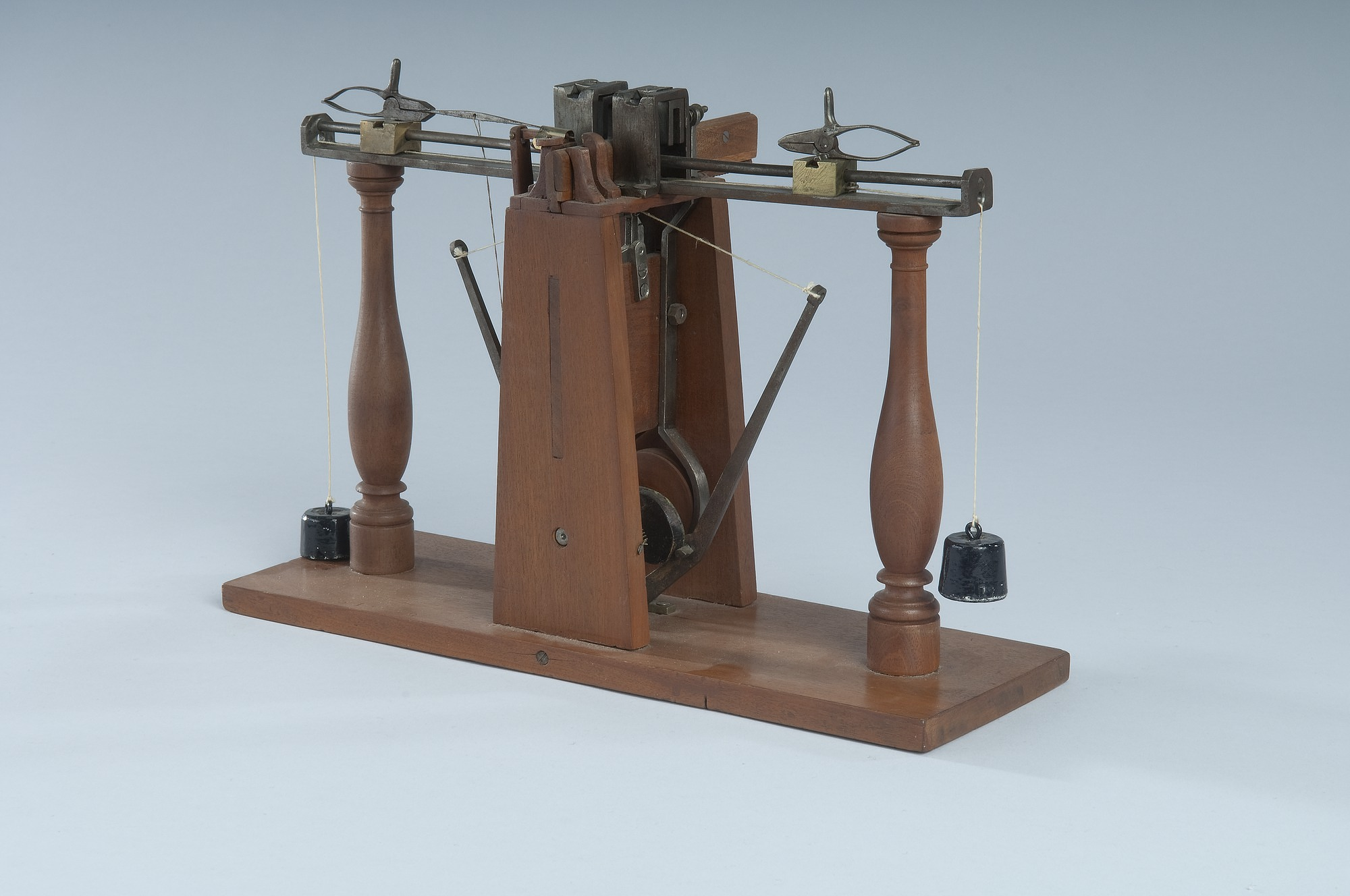 1842 Greenoughs Patent Model Of A Sewing Machine National Museum Vintage Threading Guides Stitch Nerd