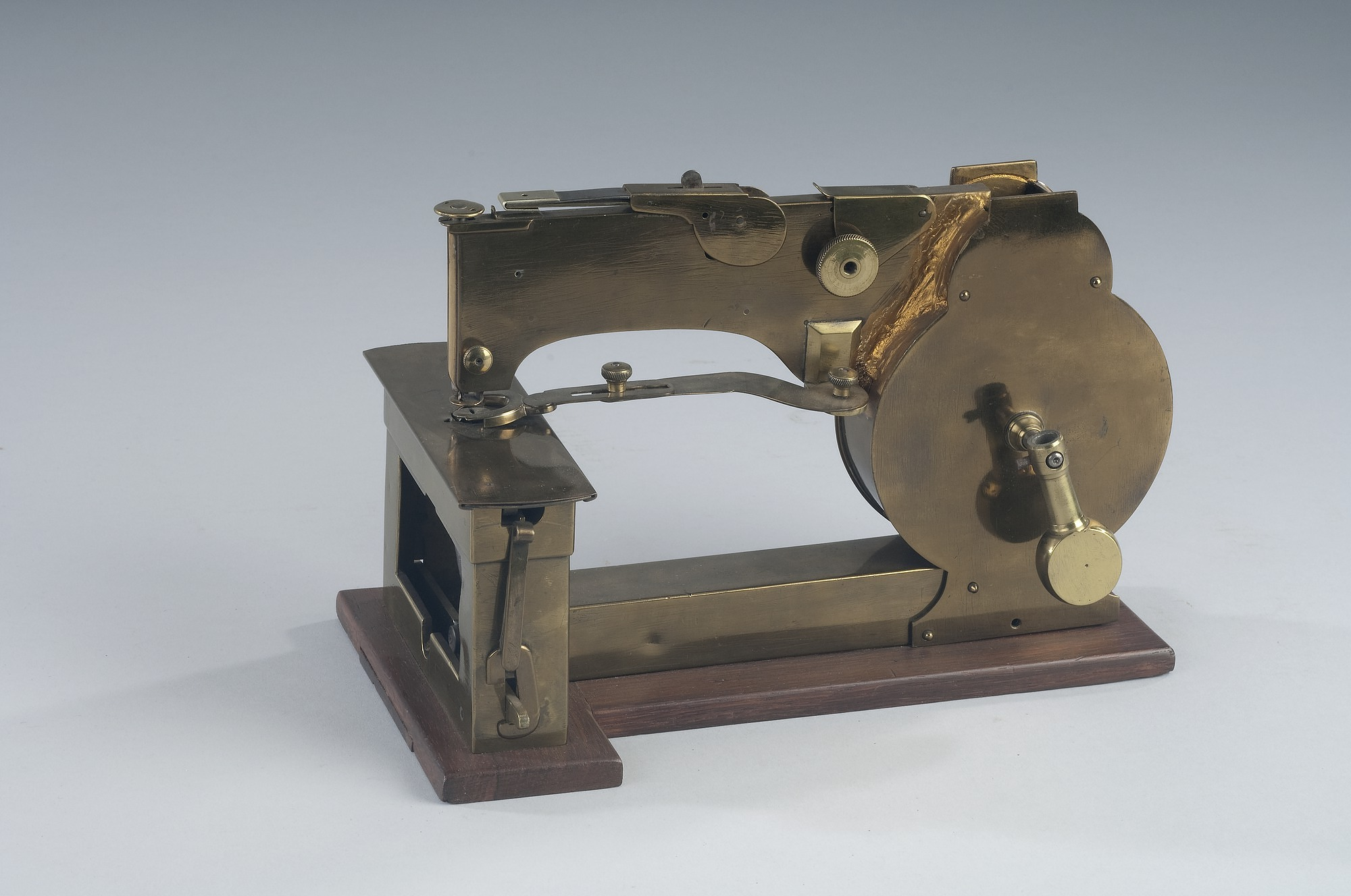 1854 Hunt's Patent Model of a Sewing Machine | National Museum of
