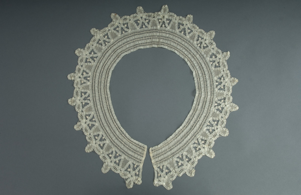 battenburg lace collar national museum of american history