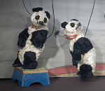 Pete the Performing Panda Marionette