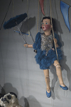 Mitzi the Tightrope Star Marionette