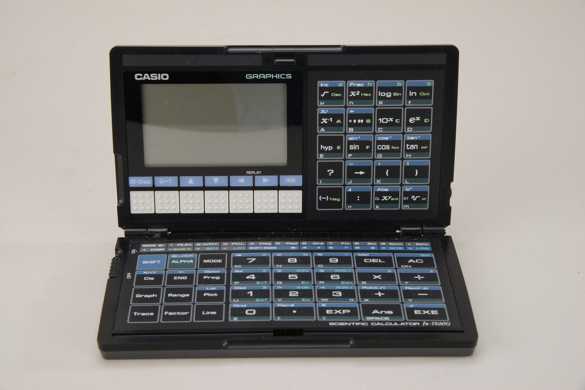 Casio fx-7500G Handheld Electronic Calculator with Manual