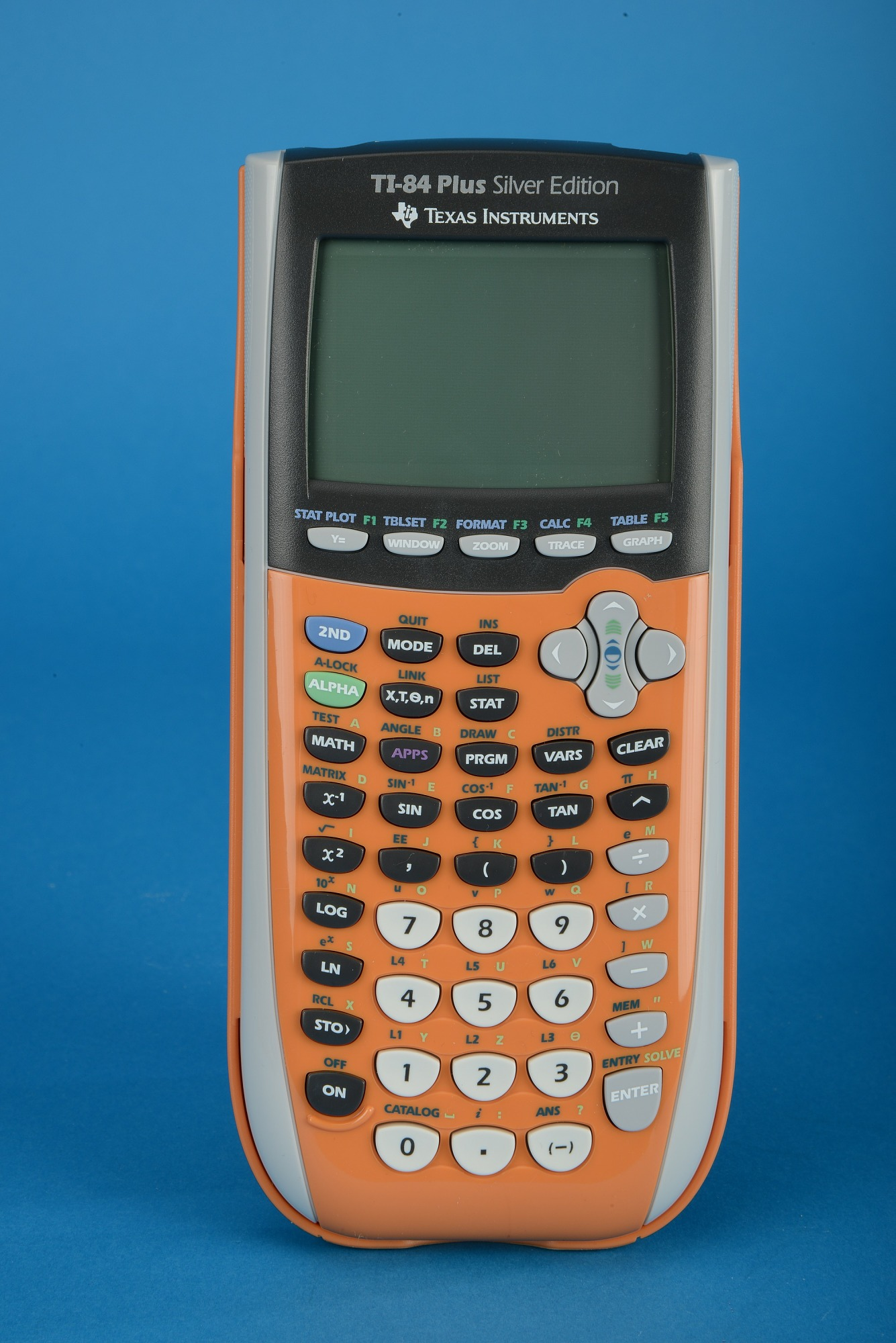 Texas Instruments TI-84 Plus Silver Edition Handheld Electronic Calculator.  Previous. Next. << 1 ...