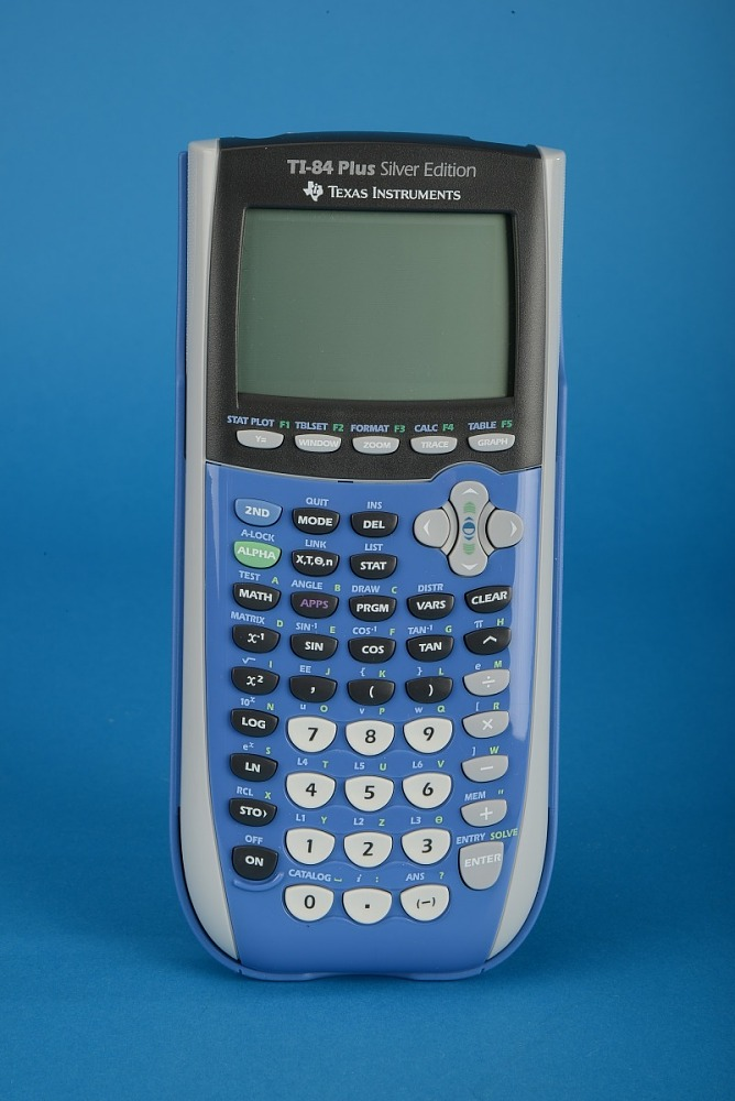 Texas Instruments Ti 84 Plus Silver Edition Handheld Electronic