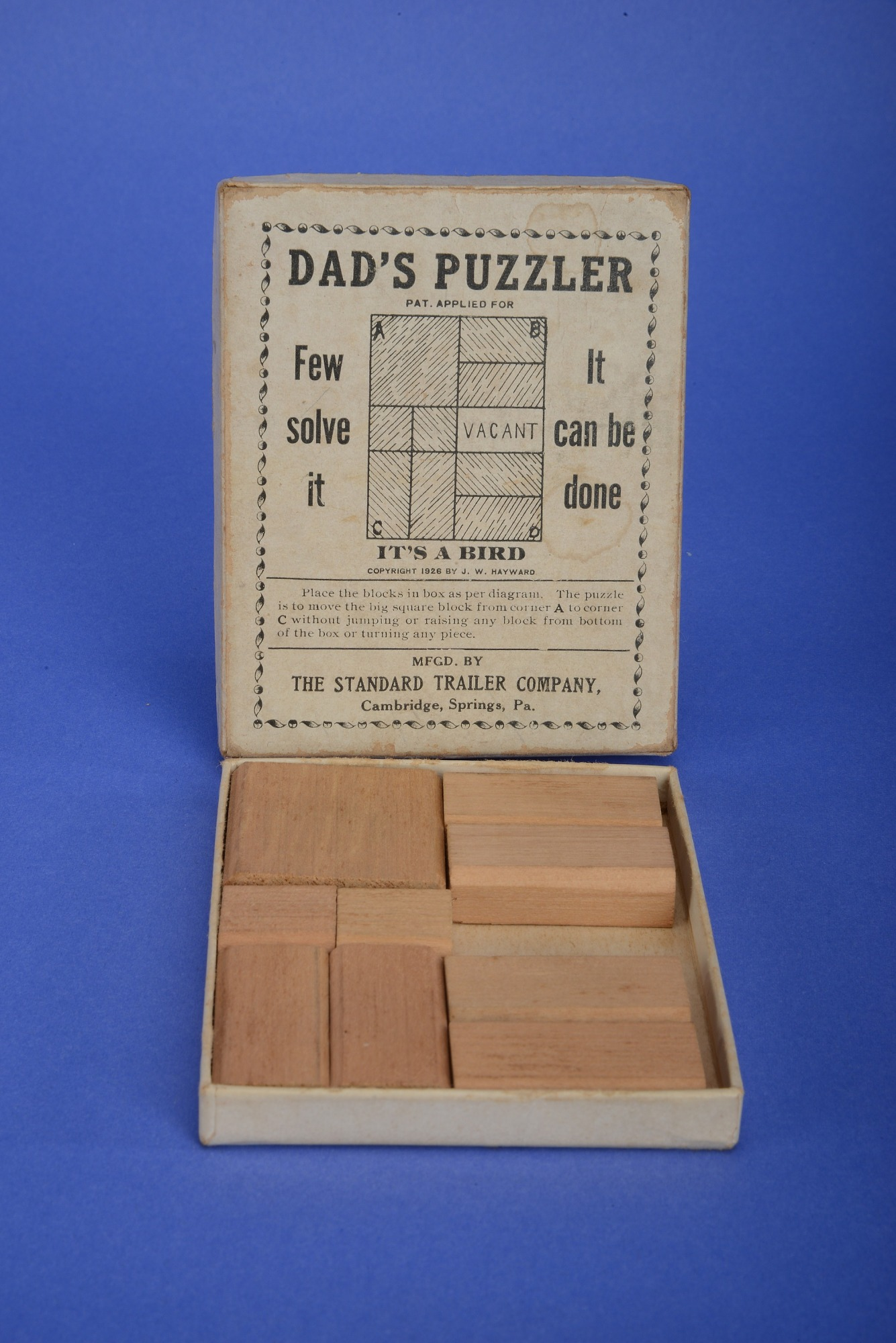 worksheet Place Value Puzzler dads puzzler once owned by olive c hazlett national museum of hazlett