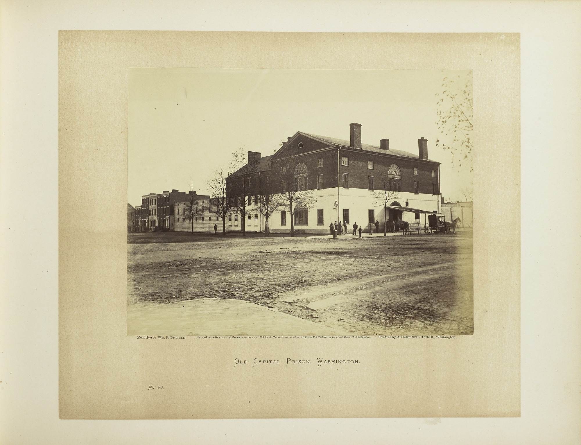Plate 90. Old Capitol Prison, Washington