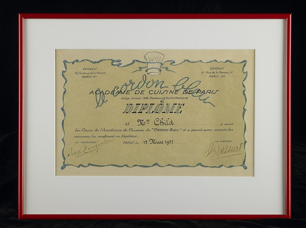 diploma from le cordon bleu national museum of american  collections search