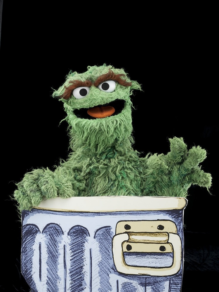 Oscar Trash Can The Grouch Images Collection