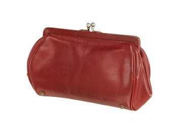 Red Kid Purse