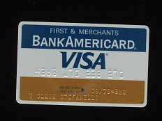 First & Merchants BankAmericard Visa