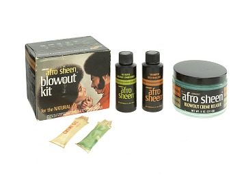 Afro Sheen Blowout Kit