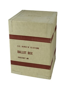 D.C. Board of Elections Ballot Box