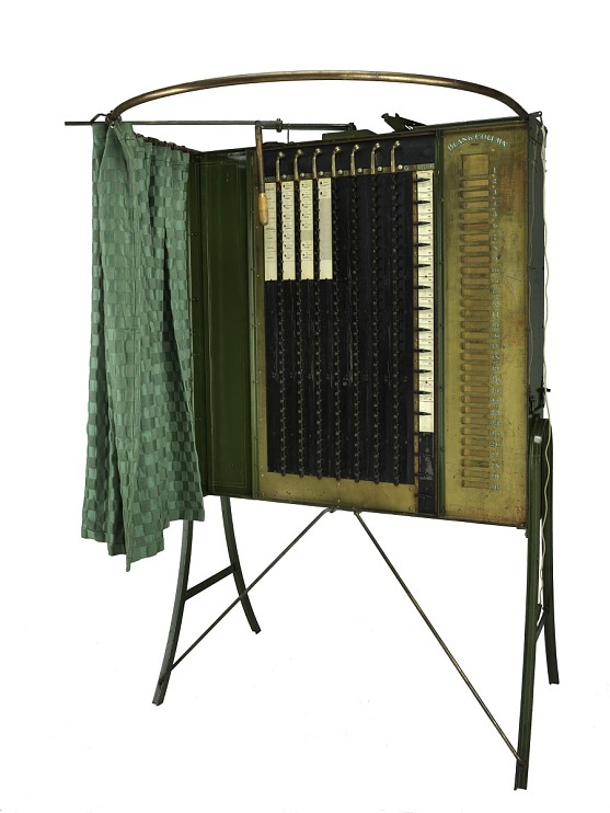 Voting Machine, 1898