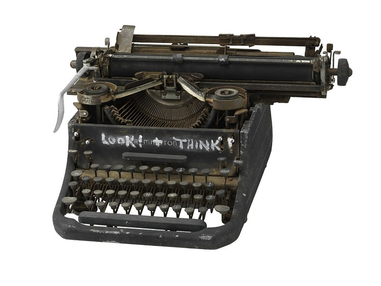 Typewriter belonging to Lawrence Ferlinghetti