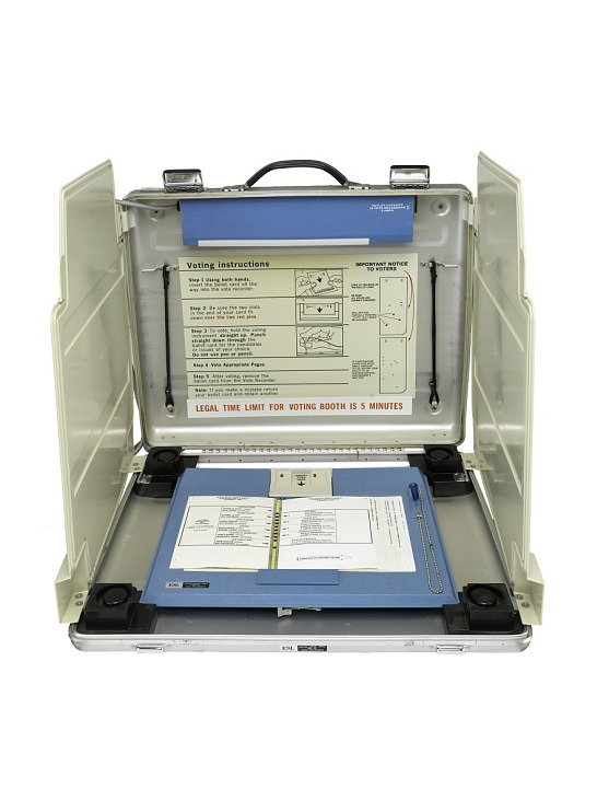 Votomatic Voting Machine, 2000